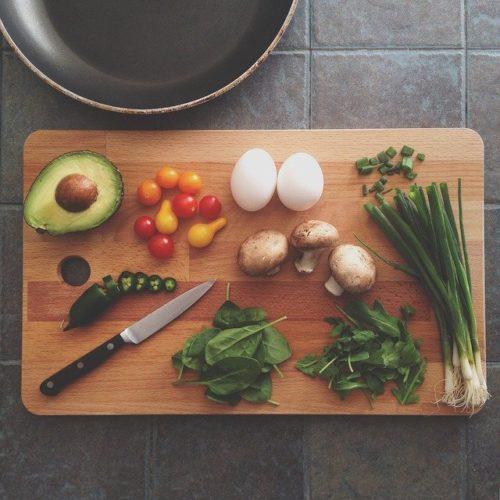 きのこ料理の画像