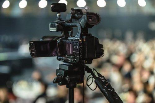 ビデオカメラの画像